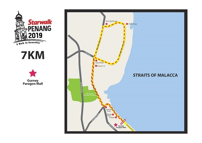 Ipoh Starwalk Non-Competition Route