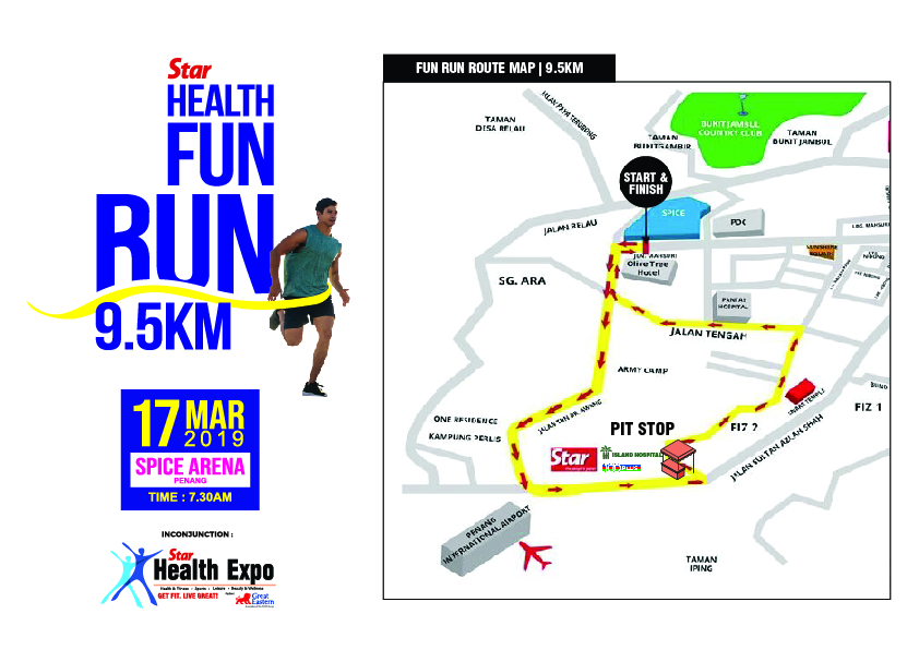 Star Health Fun Run 2019 on map my distance, mapping a route, map my run, plan my route, map sf 5k route, map my drives, map my trip, map my city, map of my land, map my state, map my place, map my name, map out a route trip, chart my route,